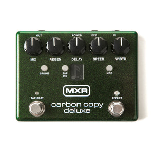 MXR M292 Carbon Copy Deluxe Analog Delay Pedal - Downtown Music Sydney