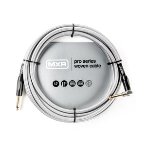 MXR Pro Series Woven Instrument Cable - 12ft Straight/Right - Downtown Music Sydney
