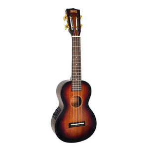 Mahalo MJ2CE3TS Java Acoustic/Electric Concert Ukulele with Bag