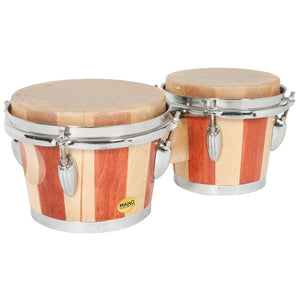 "Mano Percussion 6 1/2"" & 7 1/2"" Bongo Drums - Downtown Music Sydney"