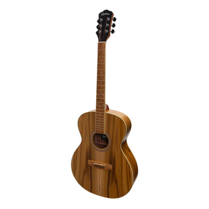 Martinez MF-25J-NST Acoustic Guitar - Jati-Teakwood