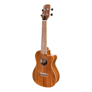Martinez MSBC-8C-NGL Southern Belle Acoustic/Electric Concert Ukulele with Case