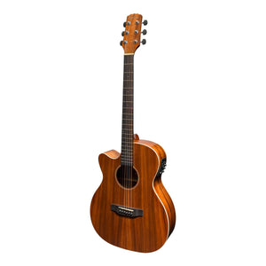 Martinez MFPC-8CL-NGL Southern Star Left Handed Acoustic/Electric Guitar with Case - Downtown Music Sydney