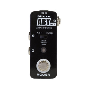 Mooer ABY MII Channel Switching Micro Pedal