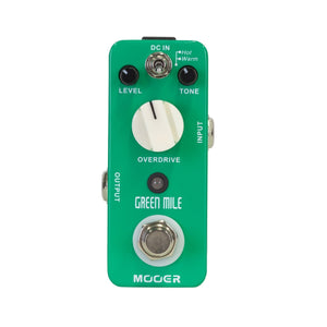 Mooer Green Mile Overdrive Micro Pedal - Downtown Music Sydney