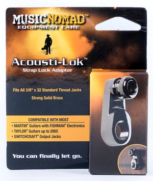 Music Nomad Acousti-Lok Strap Lock Adapter - Imperial or Metric