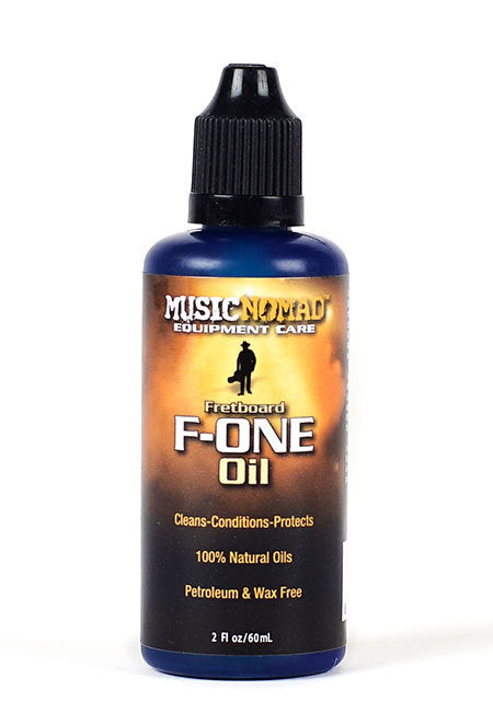 Music Nomad MN105 F-One Oil Fretboard Cleaner & Conditioner - 60mL
