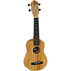 Ortega RFU10Z Soprano Ukulele with Bag - Downtown Music Sydney