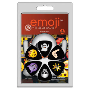 "Perris ""Emoji"" Variety Guitar Pick Pack - 6 Picks - Downtown Music Sydney"