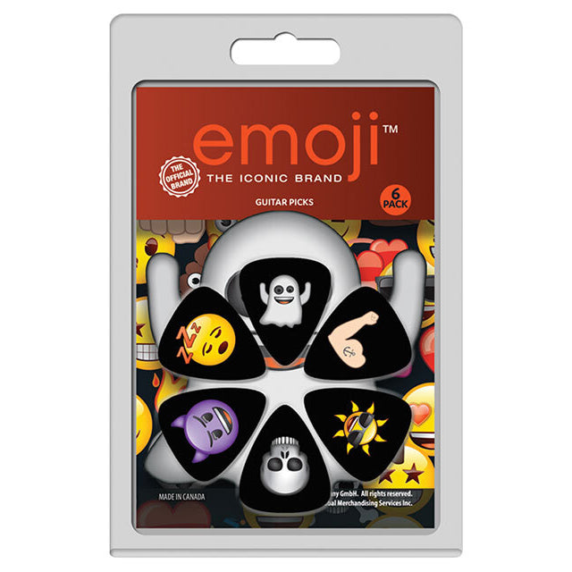 "Perris ""Emoji"" Variety Guitar Pick Pack - 6 Picks"