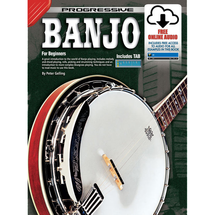 Progressive Beginner Banjo Book with CD