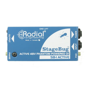 Radial StageBug SB-1 Active DI Direct Box - Downtown Music Sydney