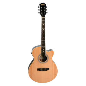 Redding RGC51CE Acoustic/Electric Guitar - Natural
