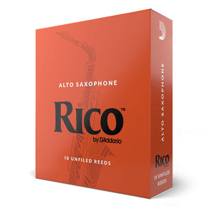 Rico Alto Saxophone Reeds - 2.5, 10 Pack