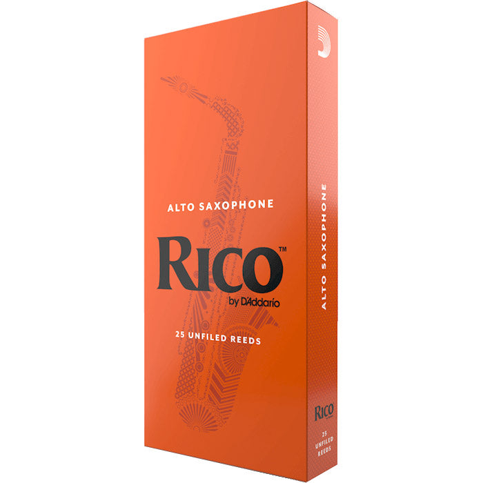 Rico Alto Saxophone Reeds - 1.5, 25 Pack