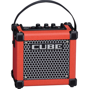 Roland MCUBEGXR Micro Cube GX 3-Watt Battery-Powered Guitar Amp - Red - Downtown Music Sydney