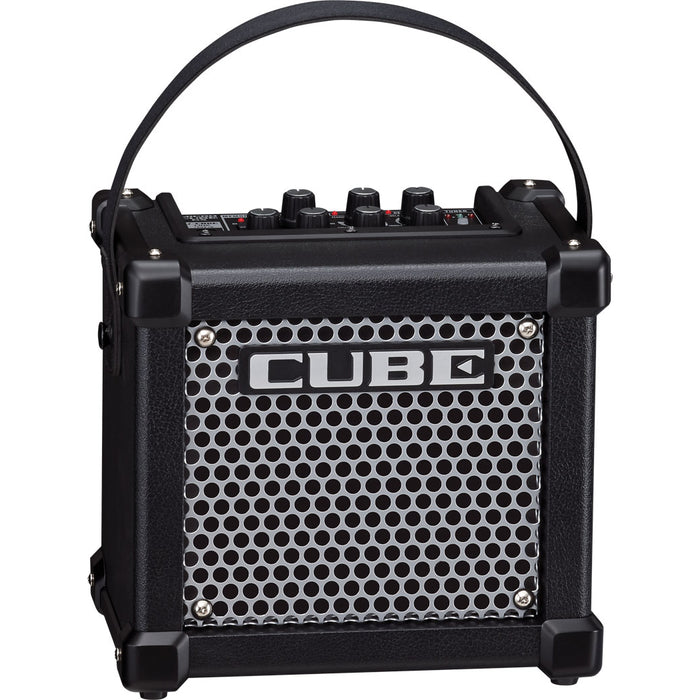 Roland MCUBEGX Micro Cube GX 3-Watt Battery-Powered Guitar Amp - Black