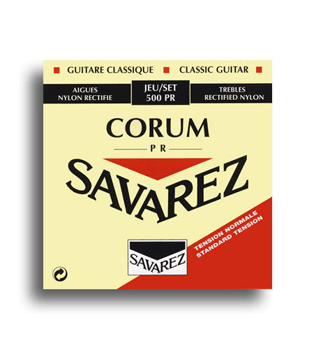 Savarez 500 PR Traditional Corum Normal Tension Classical Nylon Strings