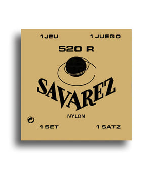 Savarez 520 R Traditional Normal Tension Classical Nylon Strings - Downtown Music Sydney