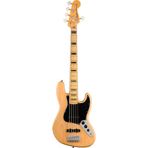 Squier Classic Vibe '70s Jazz Bass V 5-String Bass - Natural