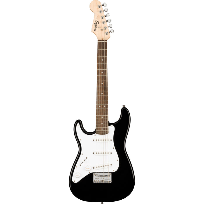 Squier Mini Strat Left Handed Short Scale Electric Guitar - Black