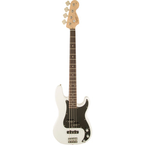 Squier Affinity Precision Bass - Olympic White - Downtown Music Sydney