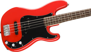 Squier Affinity Precision Bass - Race Red - Downtown Music Sydney