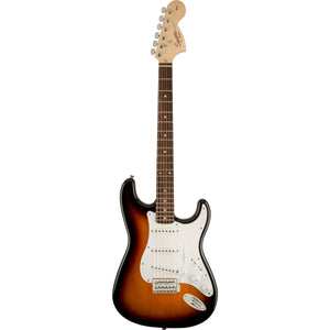 Squier Affinity Stratocaster - Brown Sunburst, Laurel Fingerboard - Downtown Music Sydney