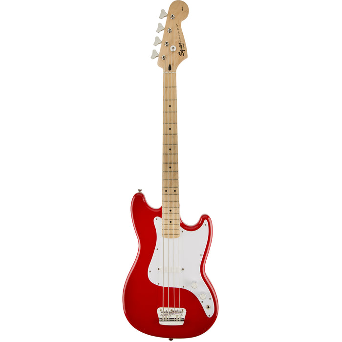 Squier Bronco Short Scale Bass - Torino Red