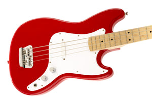 Squier Bronco Short Scale Bass - Torino Red - Downtown Music Sydney
