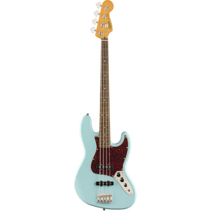 Squier Classic Vibe '60s Jazz Bass - Daphne Blue - Downtown Music Sydney