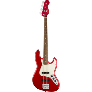 Squier Contemporary Jazz Bass - Dark Metallic Red - Downtown Music Sydney