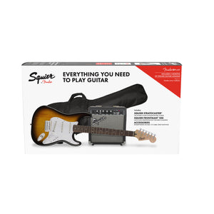 Squier Stratocaster Pack - Sunburst - Downtown Music Sydney