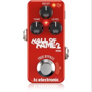 TC Electronic Hall of Fame Mini 2 Reverb Pedal