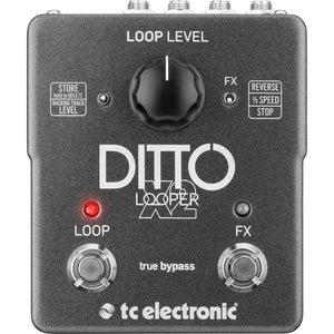 TC Electronic Ditto X2 Looper Pedal - Downtown Music Sydney