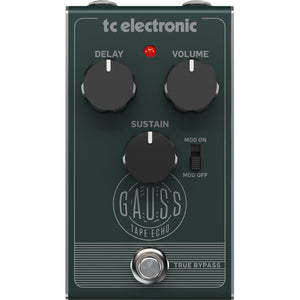 TC Electronic Gauss Tape Echo Pedal - Downtown Music Sydney