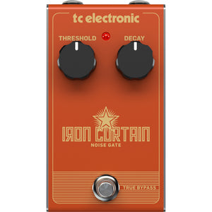 TC Electronic Iron Curtain Noise Gate Pedal - Downtown Music Sydney
