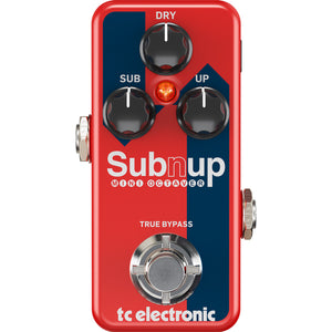 TC Electronic Sub 'N' Up Mini Octaver Pedal - Downtown Music Sydney