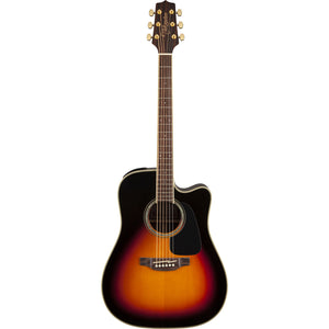 Takamine GD51CE-BSB Acoustic/Electric Guitar - Brown Sunburst