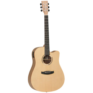 Tanglewood TDBTDCEHR Discovery Exotic Series Acoustic/Electric Guitar