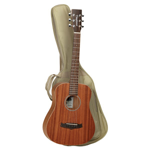Tanglewood TW2TLH Winterleaf Left Handed Traveller Guitar with Gig Bag