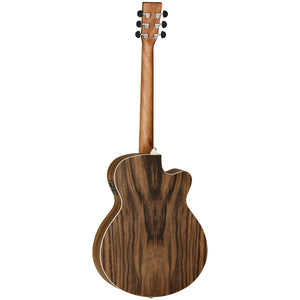 Tanglewood TDBTSFCEPWLH Discovery Exotic Left Handed Acoustic/Electric Guitar - Downtown Music Sydney