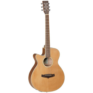 Tanglewood TW9LH Winterleaf Left Handed Acoustic/Electric Guitar - Downtown Music Sydney