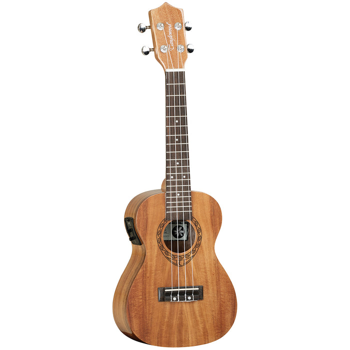 Tanglewood TWT8EB Tiare Acoustic/Electric Concert Ukulele with Bag