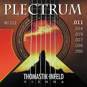 Thomastik AC111 Plectrum Bronze Light Acoustic Guitar Strings (11-50)