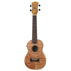Tiki TFMC-2P-NST 2 Series Concert Acoustic/Electric Ukulele with Bag
