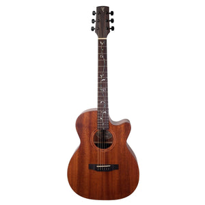 Timberidge TRFC-MMT-NGL Messenger Acoustic/Electric Guitar with Case - Downtown Music Sydney