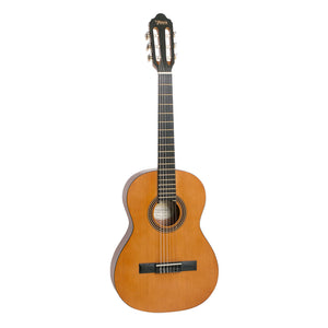 Valencia VC203H Hybrid Thin Neck 3/4 Classical Guitar - Antique Natural