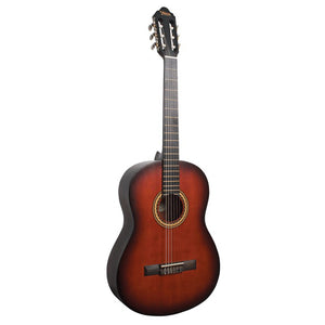 Valencia VC204HCSB Hybrid Thin Neck Classical Guitar - Classic Sunburst - Downtown Music Sydney