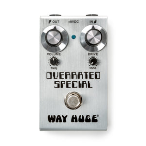 Way Huge Overrated Special Overdrive Pedal - Downtown Music Sydney